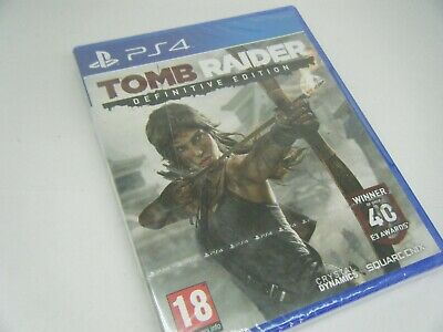New And Factory Sealed Tomb Raider Definitive Edition Playstation 4 Game