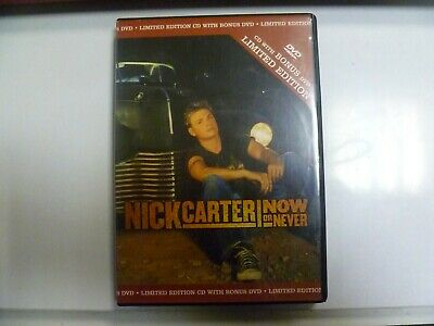 Nick Carter - Now or Never (CD with Bonus DVD Limited Edition)