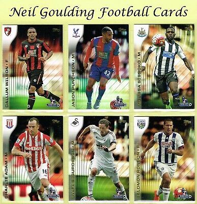 Topps PREMIER GOLD 2015 ☆ Football Cards ☆ #1 to #150