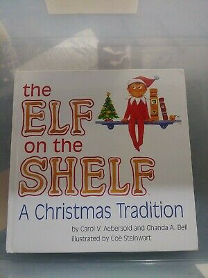 The Elf on the Shelf Boy Book A Christmas Tradition Book Only Pre-owned