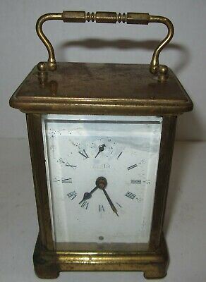 Antique French Carriage Clock For Parts