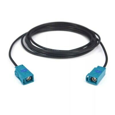 GPS Antenna Extension Cable FAKRA Z Female Pigtail RG174 50cm