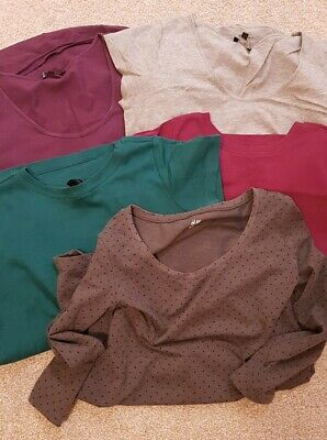 Bundle Of Maternity Tops Size 8-12
