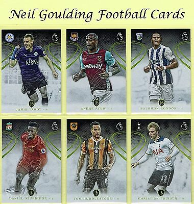 Topps PREMIER GOLD 2016 ☆ Football Cards ☆ #1 to #100