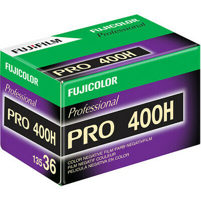 Fuji FujiColor Pro 400H 135-36 Color Negative Film 35mm 36 exp. Fujifilm FRESH