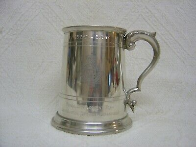 Pewter Tankard - Avon & Somerset Constabulary - Force Development Team