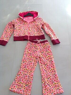 Oilily Designer Girls Hoodie And Matching Sweat Pants Gorgeous! Age 5-6