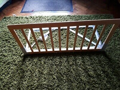 BabyDan Wooden Bed Guard Rail Natural