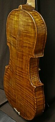 200+ Years Old ANTIQUE VIOLIN 1806-Listen to Video- Renewed 1905 by Wm. Dunstone