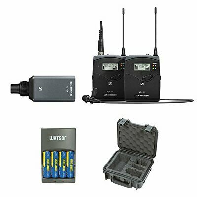 Sennheiser ew 100 ENG G4 Wireless Microphone Combo System with Case and Charger