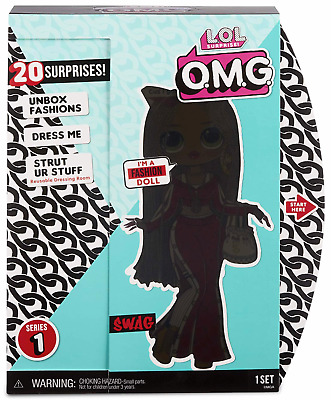 "LOL Surprise OMG MC Swag Fashion Doll 10"" Big Sister Winter Disco READY TO SHIP"
