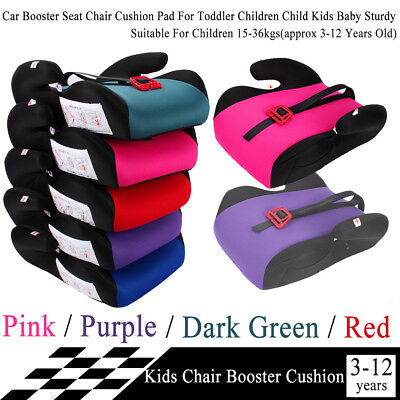Portable Car Booster Seat Safety Chair Cushion For Toddler Children Child Kids