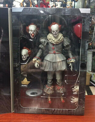 """IT 2017 Ultimate Pennywise Clown 7"""" Scale Action Figure Collection Doll New NECA"""