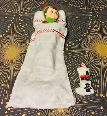 Elf Accessories Eve Stocking Toy Filler Bedding Blanket Pillow Props New Shelf