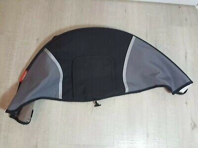 Phil & Ted's Dash Hood Sun Canopy Black Grey