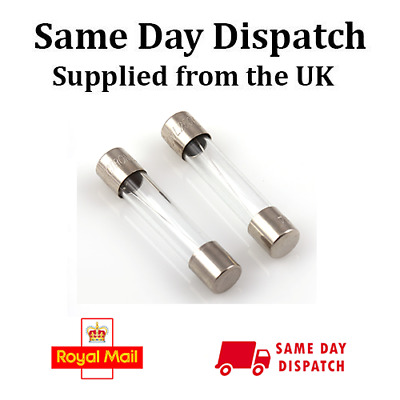 Timed Delay 10 x 315mA SLOW BLOW 20mm X 5mm GLASS FUSE T315 T315mAL RoHS