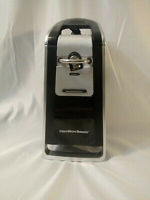 Hamilton Beach 76606ZA Smooth Touch Electric Automatic Can Opener
