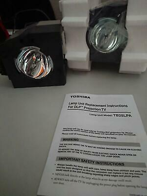 Rear Projection Replacement Lamp for Toshiba TV. Part Number:TB25-LPA /23402847.