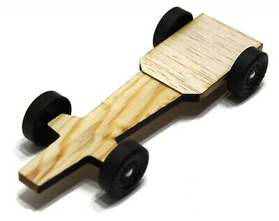 Winning Rail Riding Rider Pinewood Derby Car -Bullet Customize to your Rules