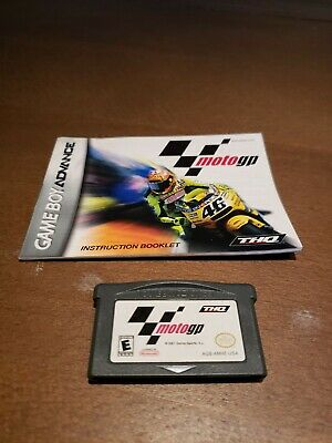 Moto GP (Nintendo GameBoy Advance) With Booklet.