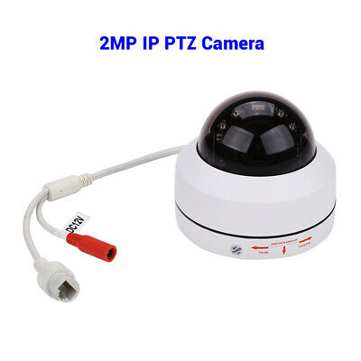 2MP 1080P IP PTZ Camera 4X Zoom Smart Network Security Night Vision IP67 H.265