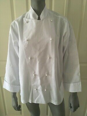 Chef Jacket LONG SLEEVE double breasted  YOUNG CHEF brand SIZE S
