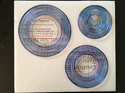 Creative Memories CIRCLES CCS Cutting System Patterns and Templates * USED *