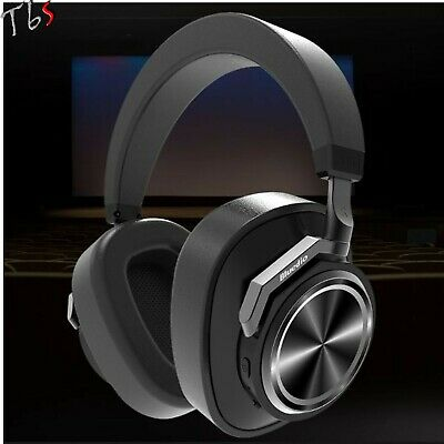 Bluedio T6s Bluetooth 5.0 Cordless ANC Smart HiFi Headphones Wireless Microphone