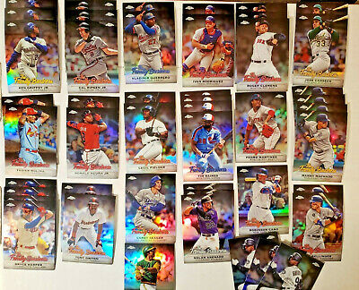 HUGE 2019 Topps Chrome Update 47x Family Business Insert Lot Foil Refractor