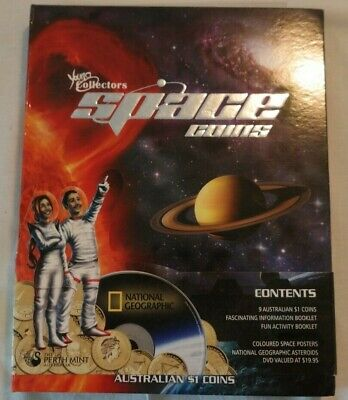 2009 Young Collectors Space 9-Coin Dollar Series in Folder