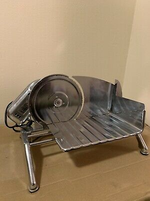 Vintage Rival Electric Food Slicer 1101E/7 Meat & Cheese Slicer Chrome Tested