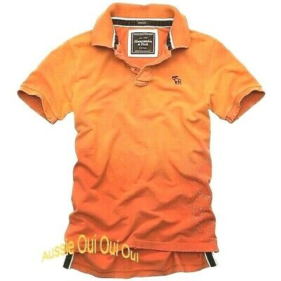 Abercrombie & Fitch vintage destroyed polo shirts NWT authentic items