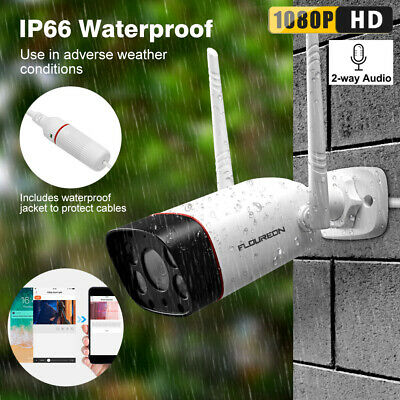 1080P WIFI IP Camera Wireless Outdoor CCTV HD Home Security IR Cam 2 Way Audio