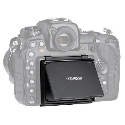 Camera Use Folding Type Lightweight Screen Protect Cover LCD Hood for Nikon D500