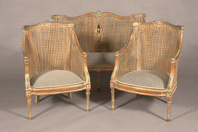 Elegante Lounge Suite Set 2er and 2 Chair English Style