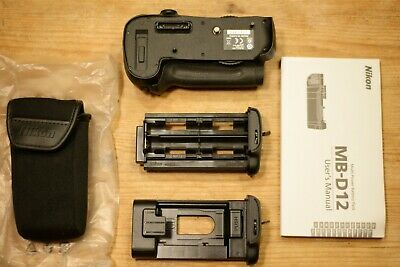 Genuine Nikon MB-D12 Vertical Grip Multi Battery Pack for D800 D800E D810, Boxed