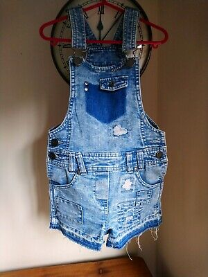 Next Short Dungarees, Girls 6 Years, super condition