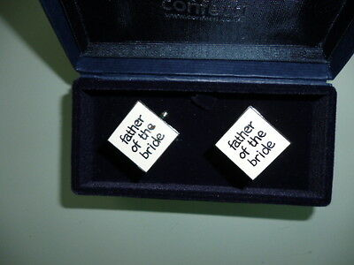 'Father of the Bride' Cuff  Links