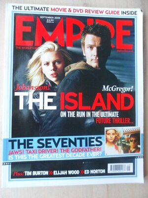 Empire magazine - Sep 2005 - # 195 - The Island