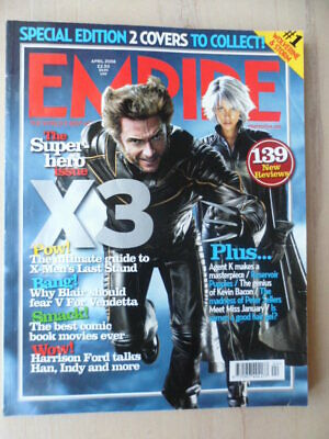 Empire magazine - April 2006 - # 202 - X Men