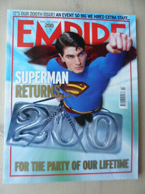 Empire magazine - Feb 2006 - # 200 - Superman returns