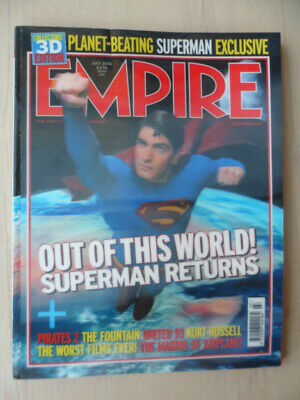 Empire magazine - July 2006 - # 205 - Superman