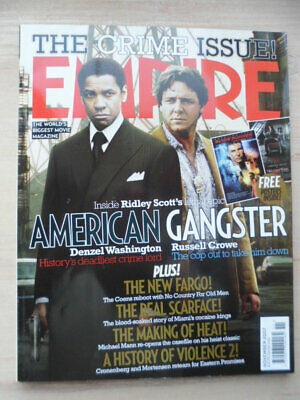 Empire magazine - Nov 2007 - # 221 - American Gangster