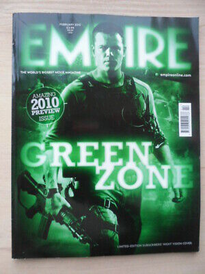 Empire magazine - Feb 2010  - # 248 - GREEN ZONE