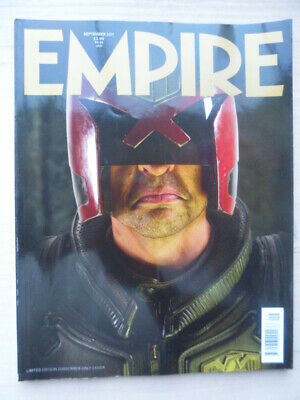 Empire magazine - Sep 2011 - # 267 -  Judge Dredd