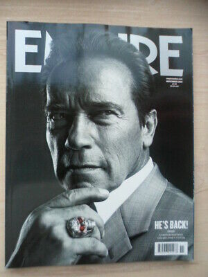 Empire magazine - Nov 2012 - # 281 - SCHWARZENEGGER  COVER