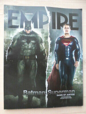 Empire magazine - Sept 2015 - #315 - Batman Superman
