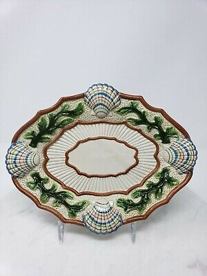 """Fitz and Floyd Classic """"Fish Market"""" Sea Shell Plate Dish Decorative Collectible"""