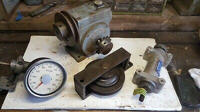 Reduction gearbox & others job lot