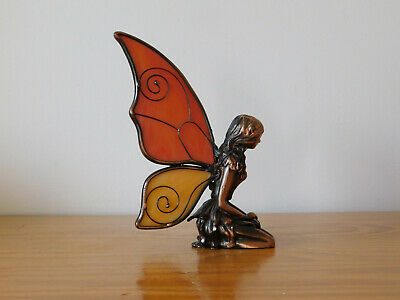 Vintage Tiffany Glass Style Tooth Fairy Figure